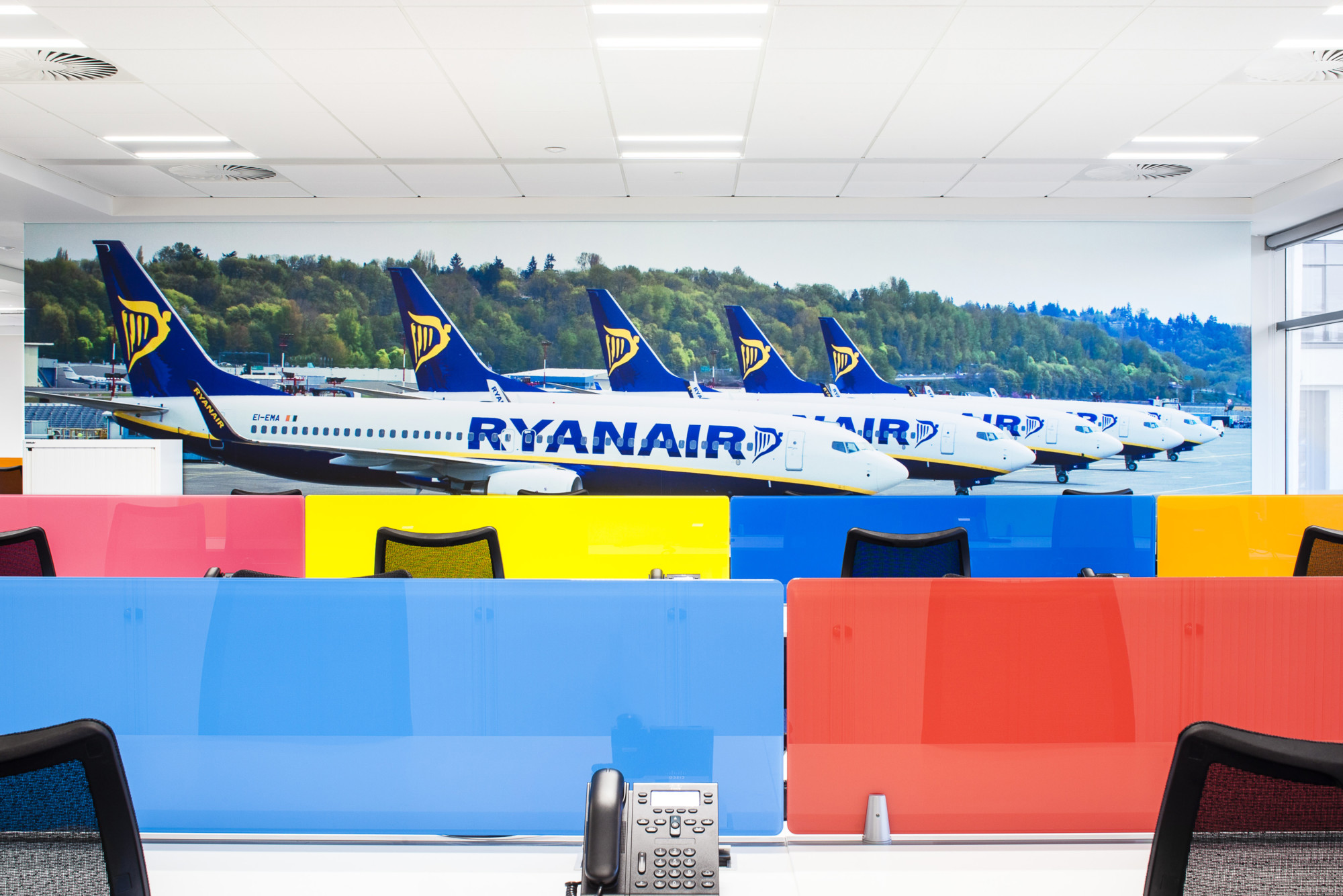 Ryan Air Office Fitout