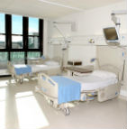 Picture of patient room Beacon Hospital
