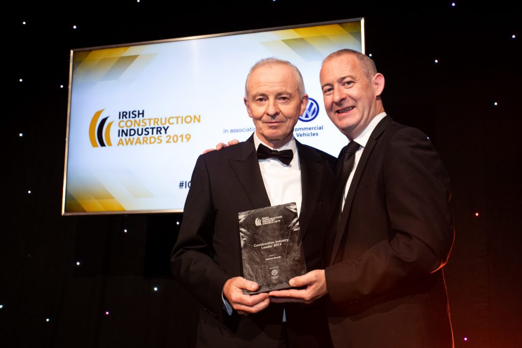 Irish Construction Industry Awards - Eamon Booth - Construction Industry Leader 2019