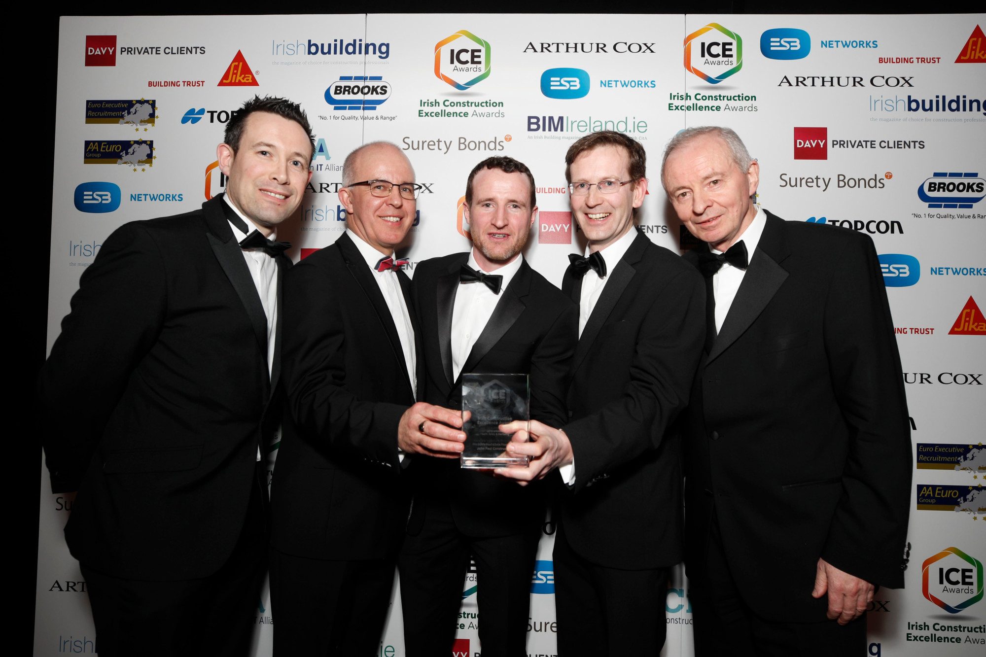 2018 Irish Construction Excellence Awards - Health, Safety & Wellbeing Award