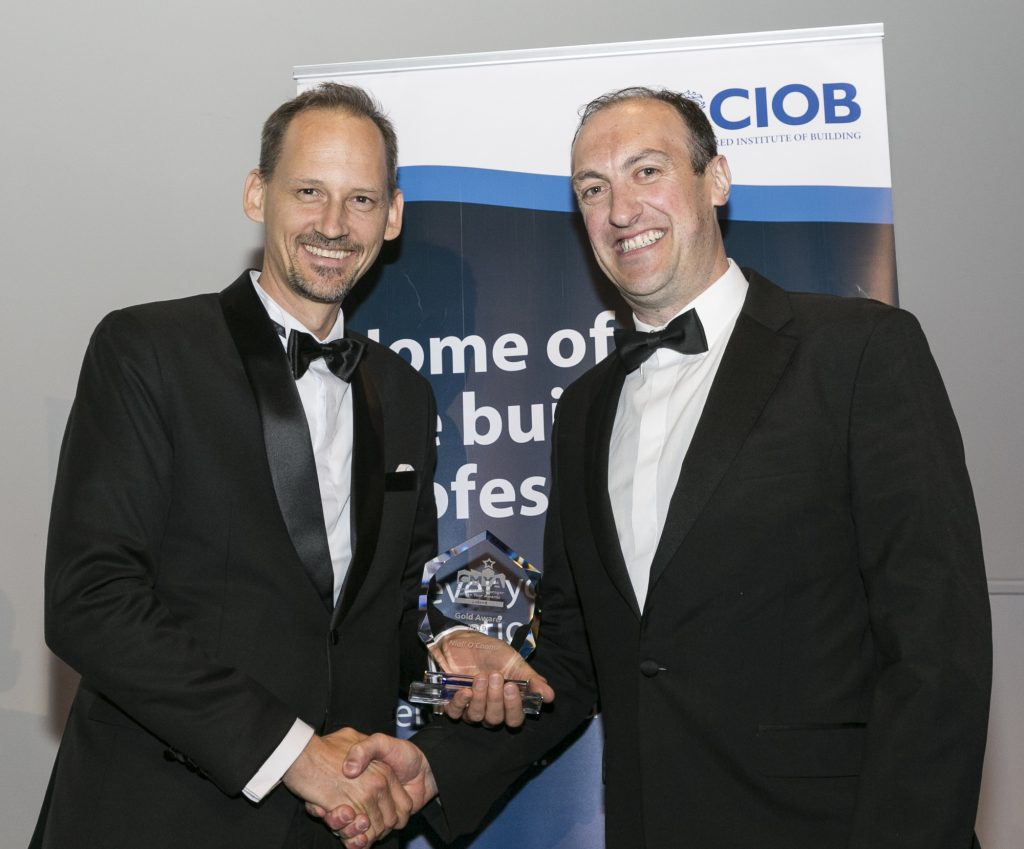 CIOB Construction Manager of the Year Awards - Niall O'Connor