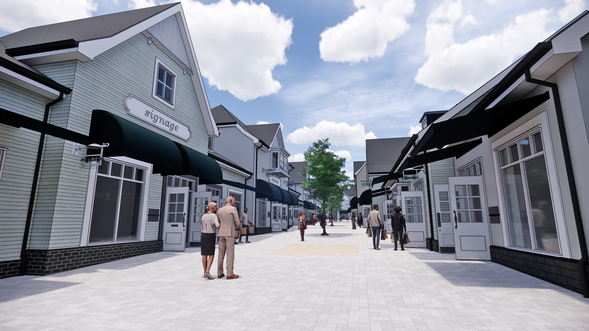 Kildare Village Retail Outlet - Construction