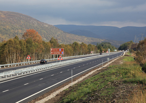 In-news-Scotland-A9-Crubenmore-Road