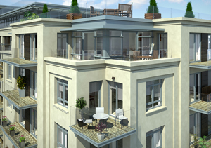 Fulham Reach - Residential Construction