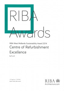 RIBA-West-Midlands-Sustainability-Award-2014---CoRE