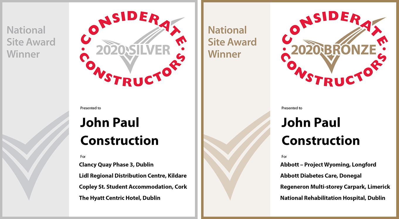 2020 Considerate Constructors National Site Awards