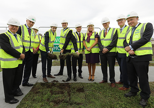 National Rehabilitation Hospital - Sod Turning Ceremony