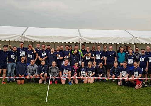 Staff Relay Series with PwC