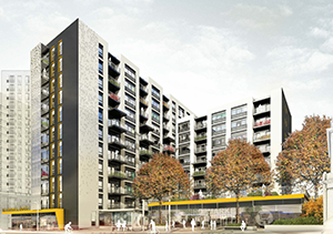 The Horizon Building, Ilford - Residential Construction